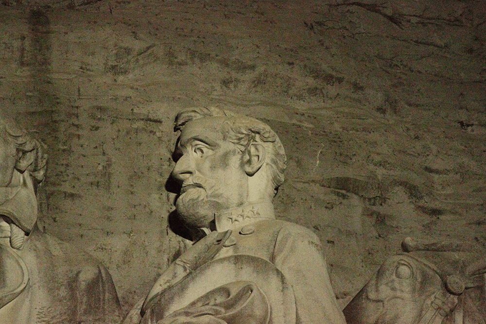 General Lee - Stone Mountain Carving